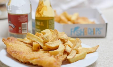 Fish and Chips – to je Anglie